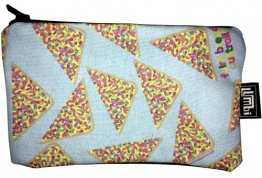 Pencil Case 18x10cm Fairy Bread Blue