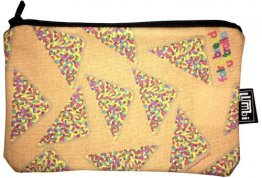 Pencil Case 18x10cm Fairy Bread Orange