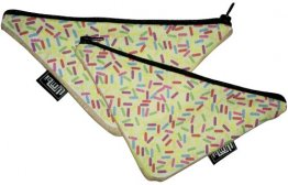 Pencil Case 18x10cm Fairy Bread Slice