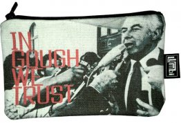 Pencil Case 18x10cm In Gough We Trust
