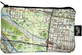 Pencil Case 18x10cm Melways Map 2G - Sports Precinct