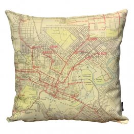 Cushion Perth Tramways Map