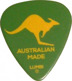 Guitar Pick Australian Made Kangaroo