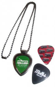 Guitar Pick Locket