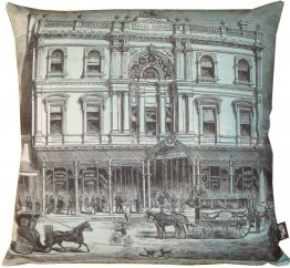 Cushion Royal Arcade Etching
