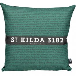 Cushion The Streets Stripe Peridot
