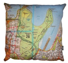 Cushion Sydways Sydney CBD Map
