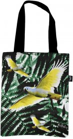 Tote Bag 40x33cm Cockatoo Black