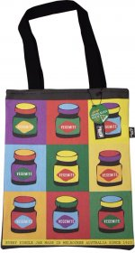 Tote Bag 40x33cm Pop Art Vegemite