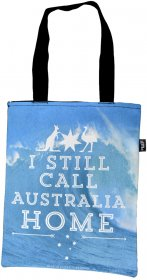Tote Bag 40x33cm Still Call Australia Home Wave