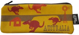 Glasses Case 19x8cm Kangaroo Fun