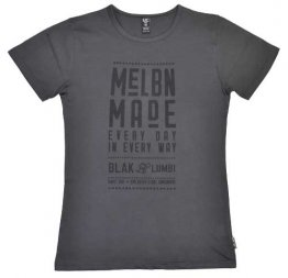 Unisex T-shirt Vintage Black MELBN MADE Everyday in Everyway
