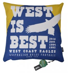 Cushion West is Best West Coast Eagles