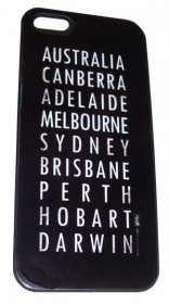 iPhone 4/5 Case Australian Destinations Vintage