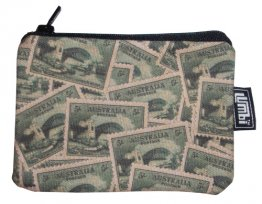 Ipod / Coin Case 13x9cm Sydney Harbour Stamps