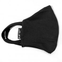 Face Mask Black Plain