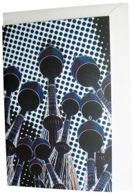 Greeting Card A6 Centrepoint Towers Dots