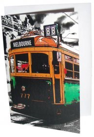 Greeting Card A6 The Lucky Tram