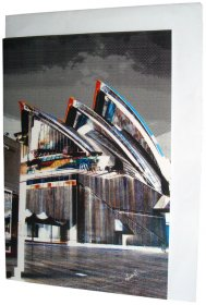 Greeting Card A6 Opera House Colour
