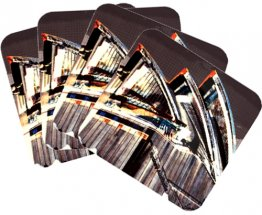Coasters Set of 4 Opera House Colour