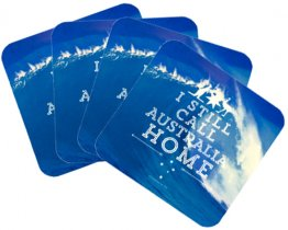 Coasters Set of 4 Still Call Australia Home