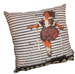 Cushion Skipping Girl