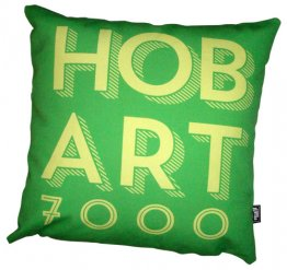Cushion Hobart Text Forest