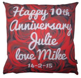 Cushion Roses Anniversary