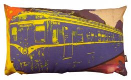Cushion 50x30cm Harris Train On Spilt Ink