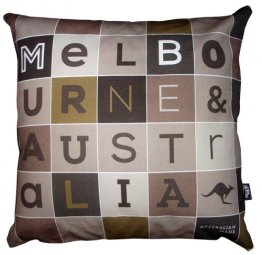 Cushion Melbourne Letter Set