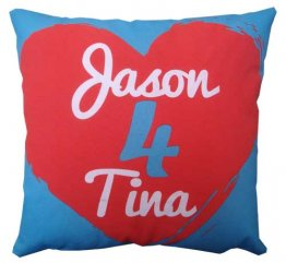 Cushion Art Heart Valentines Day