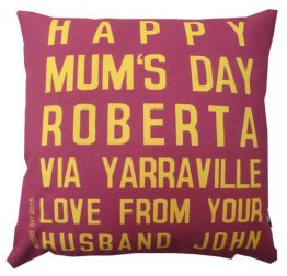 Cushion Destination Mum's Day