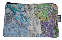 Pencil Case 18x10cm Established Vs. Emerging Invert