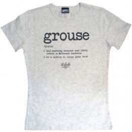 T-Shirt Silver Marle Grouse