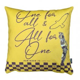 Cushion Hawthorn - One for All & All for One Yellow