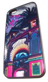 iPhone 4/5 Case Amusing St.Kilda Luna Park Pink