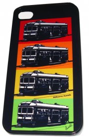 iPhone 4/5 Case Pop Trams Pop Art