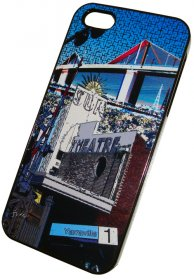 iPhone 4/5 Case Yarraville Blue