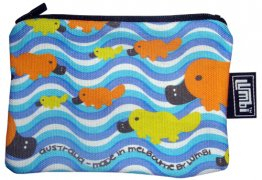 Ipod / Coin Case 13x9cm Platypus Fun