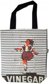 Large Tote 40x30x10cm Skipping Girl