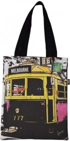 Tote Bag 40x33cm The Lucky Tram Red