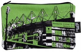 Melbourne Cricket Ground Green Pencil Case