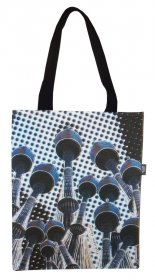 Tote Bag 40x33cm Centrepoint Tower Dots