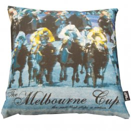 Cushion Melbourne Cup Blue
