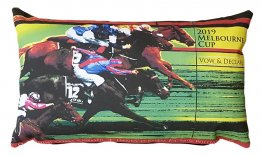 Cushion 50x30cm Melbourne Cup Winner 2019 Vow and Declare Green