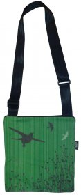 Micro Bag Bird Stripe Green