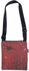Micro Bag  Bird Stripe Red