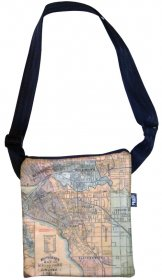 Micro Bag Whiteheads 1887 Map of Melbourne