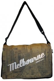 midi Satchel Bag 33x25x7cm Melbourne Since 1835