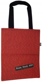 Tote Bag 40x33cm The Streets Red